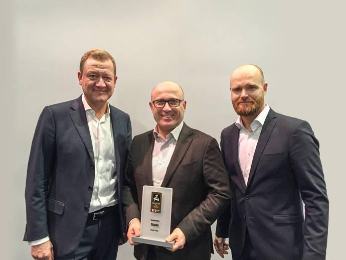 ŠKODA recibe el 'Pioneer Award' por su innovador sistema SmartGate