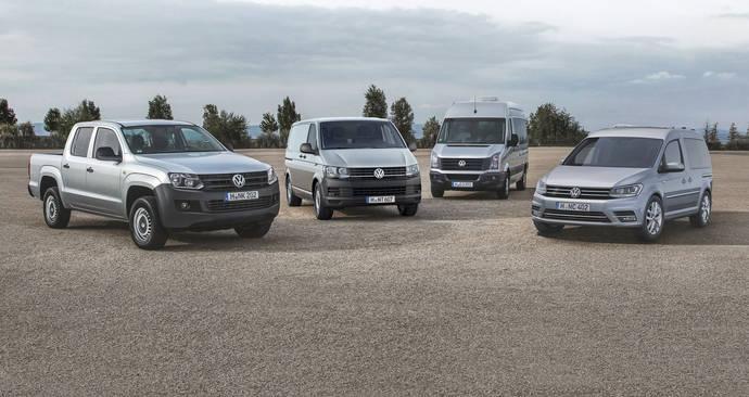 Volkswagen Vehículos Comerciales comienza 2016 con una subida del 2,1%