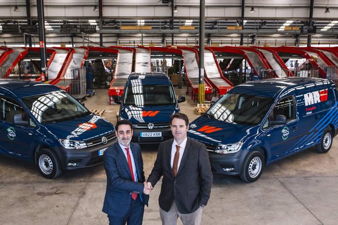 Volkswagen y MRW apuestan por la movilidad sostenible