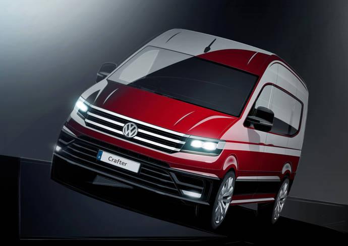 El nuevo Volkswagen Crafter es muy funcional y posee nuevo diseño exterior e interior
