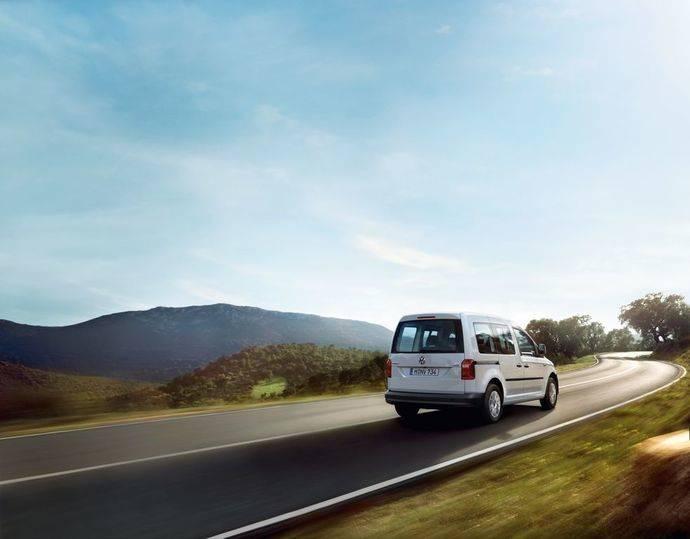 El Volkswagen Caddy GNC, protagonista en Coslada