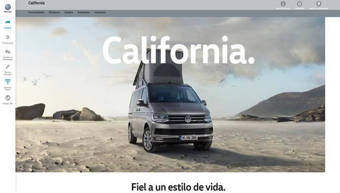 Volkswagen Vehículos Comerciales lanza nueva web