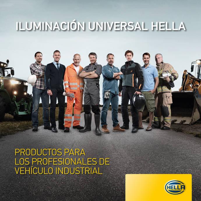 Hella presenta su línea de iluminación para vehículo industrial 2019