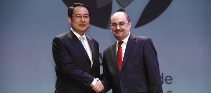 Aragón quiere convertirse en la principal plataforma logística de China