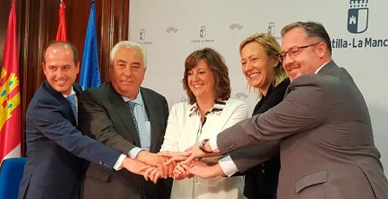 Aragón y Castilla-La Mancha se alían para impulsar el desarrollo logístico
