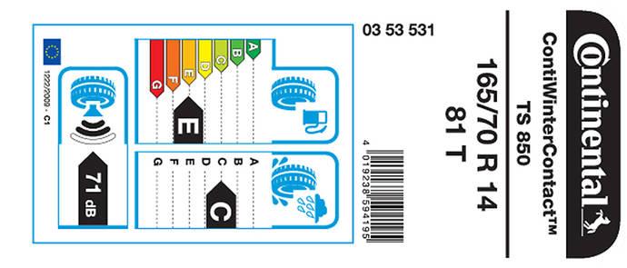 Continental, a favor de mejoras en la etiqueta europea de neumáticos
