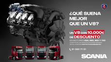 El mítico Scania V8, con 10.000€ de descuento