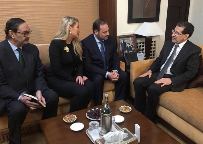 Ábalos subraya el valor de las relaciones bilaterales entre España y Marruecos