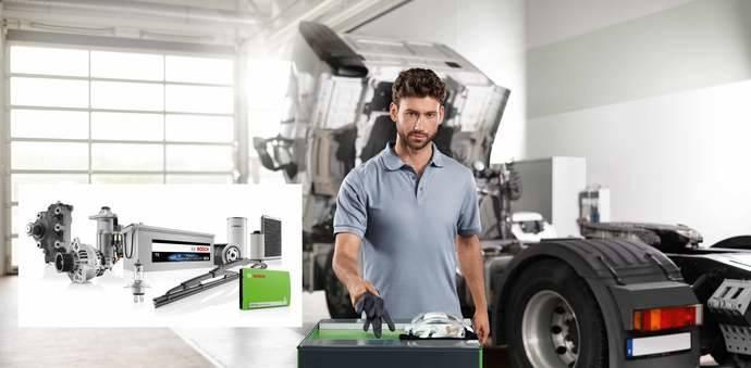 Bosch se convierte en un socio fiable para el vehículo industrial