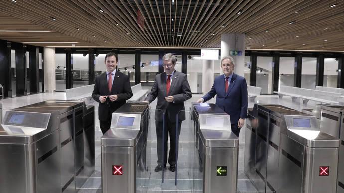 Bilbao da la bienvenida a su nueva estación intermodal