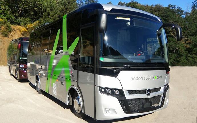 Andbus elige Next L8 en ruta Andorra - Aeropuerto de Barcelona