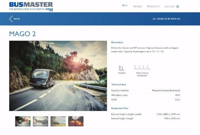 Indcar, presente en el nuevo portal Busmaster de Iveco