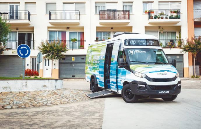 Strada e-City Low Entry, primer minibús 100% eléctrico de Indcar