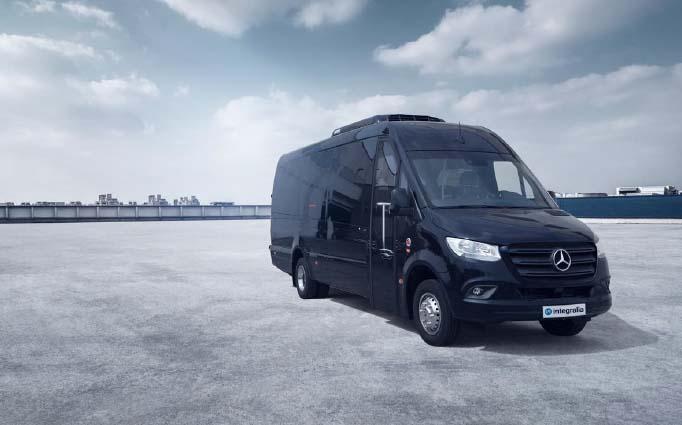 Se produce el estreno del T-ONE, el nuevo microbús de Integralia