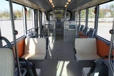 Interior de los nuevos vehículos.