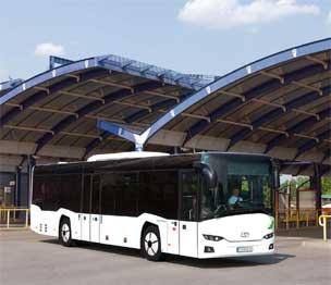 300 autobuses Interurbino de la compañía Solaris prestarán servicio en Italia