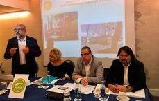 De izq a dcha: Francisco Huertas, Adoración Navarro, Javier Fuentes y David Álvarez