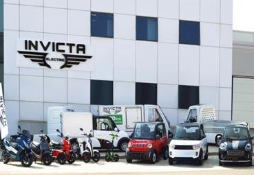 Invicta Electric presenta varios vehículos comerciales ligeros