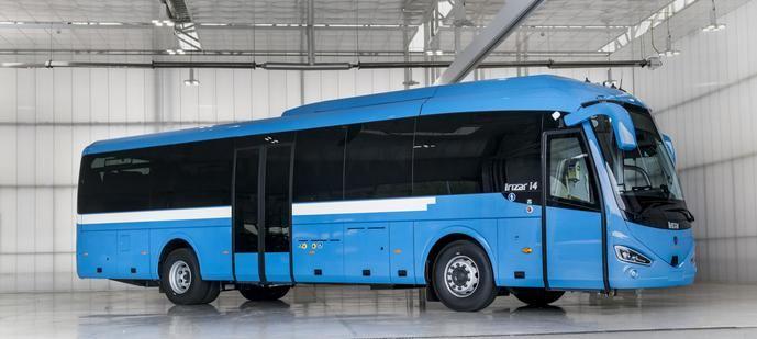 El i4, i6S de Irizar primer autocar de larga distancia de GNL