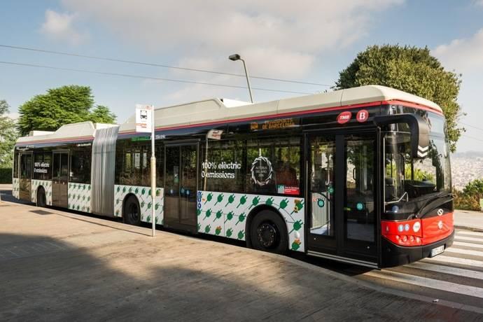 TMB compra 23 autobuses articulados de emisiones cero