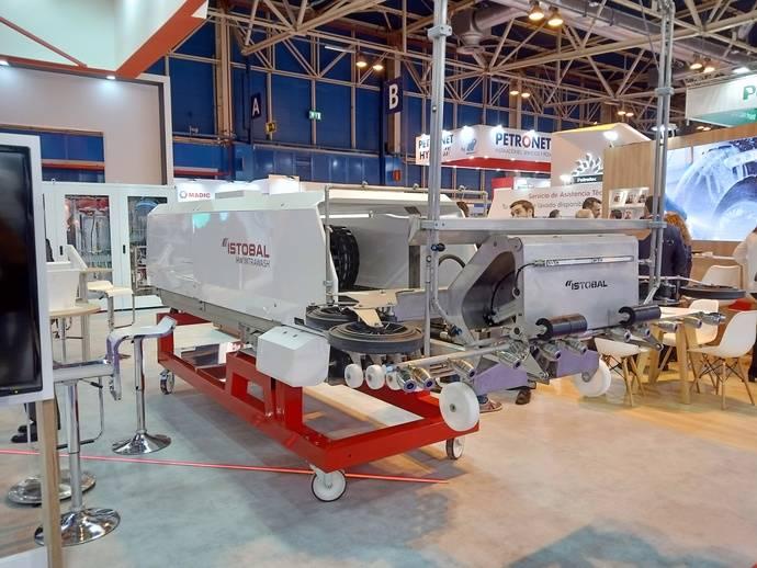 Istobal lanza HW'Intrawash, automático, para el lavado interior de remolques