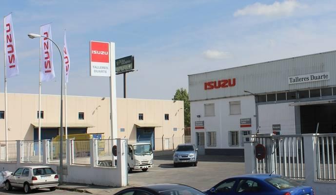 Isuzu estrena nuevo concesionario Duarte Trucks en Madrid