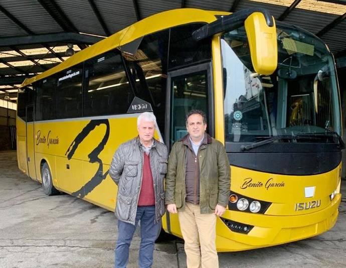 Autocares Benito García apuesta por el midibús Visigo de Isuzu