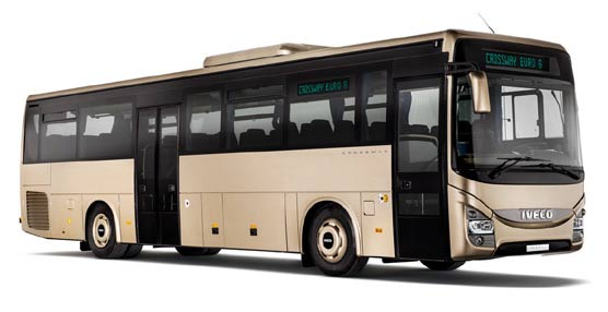 Iveco Bus presentará el Crossway LE Natural Power en Busworld