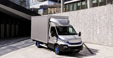 Iveco Daily celebra su 40º aniversario tras ganar el 'International Van of the Year'