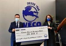 Iveco España realiza una donación de 35.000 euros al Banco de Alimentos
