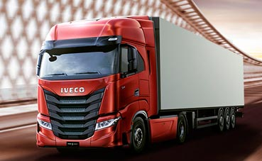 Iveco lanza S-Way de gas natural para transporte por carretera