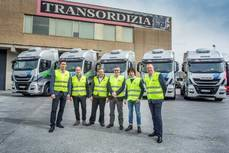 Transordizia incorpora a su flota cinco camiones Nuevo Stralis NP