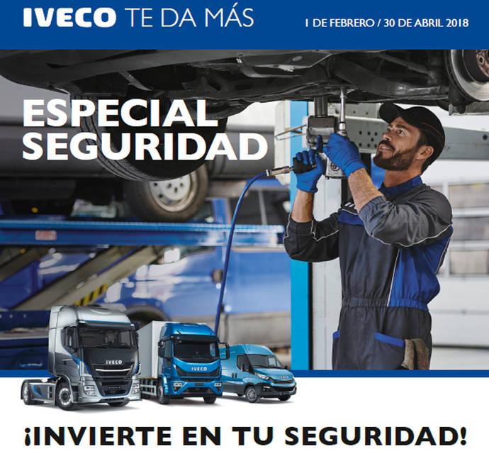 Iveco invierte en seguridad y lanza nuevas promociones de recambios