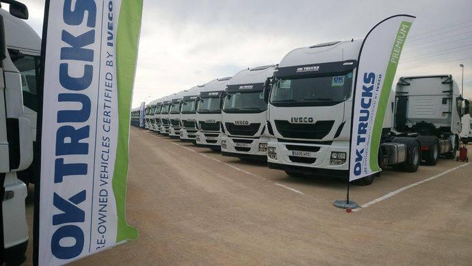 Iveco relanza su actividad de usados con OK Trucks