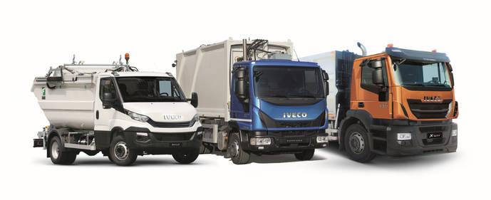 Los tres tipos de vehículos que Iveco suministrará a Costa de Marfil.