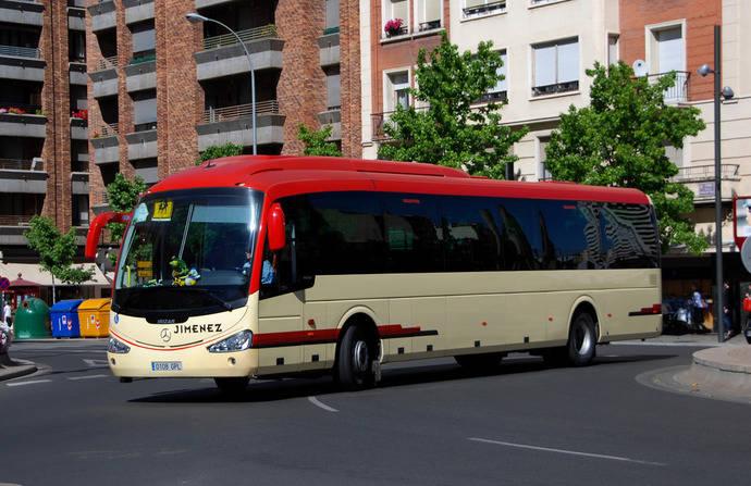 Autobuses Jimenez cambia el horario de Logroño Azagra