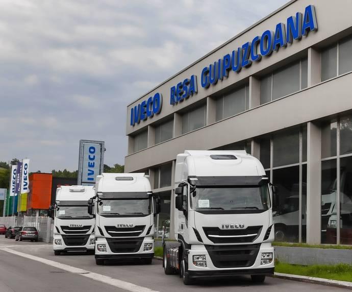 Iveco llega a la provincia de Guipúzcoa para presentar su gama de vehículos
