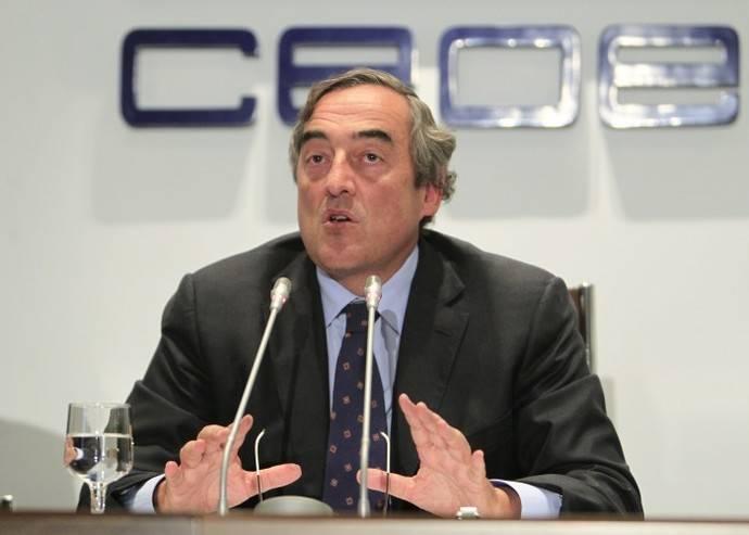 Juan Rosell hace balance de sus ocho años de presidencia de la CEOE