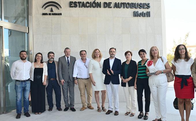 Andalucía invierte 1,7 millones en la nueva estación de autobuses de Motril
