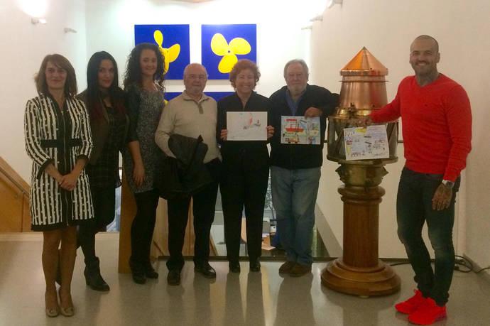 Un grupo de estudiantes diseña las navidades de Portcastelló