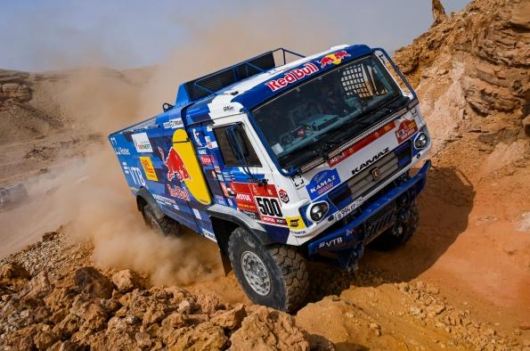 Kamaz, líder del Dakar con Goodyear Offroad Ord