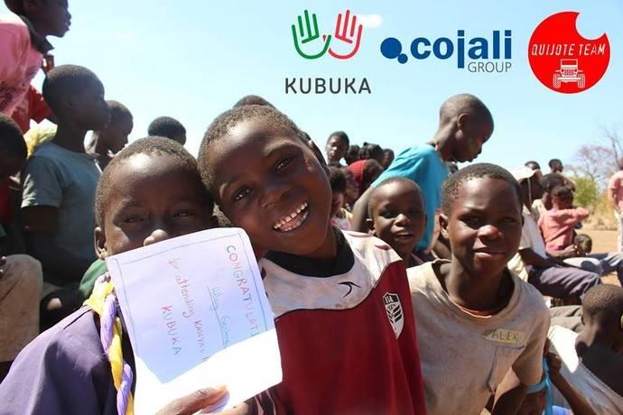 Cojali colabora con la ONG Kubuka y Quijote Team