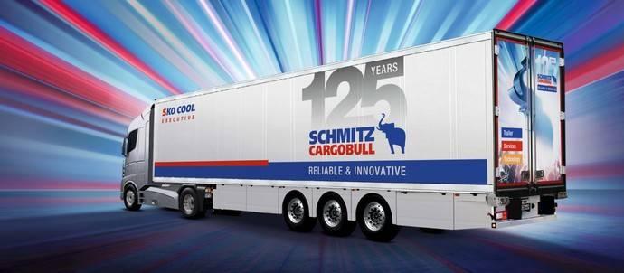 Uno de los productos creados por Schmitz Cargobull por su 125 aniversario.