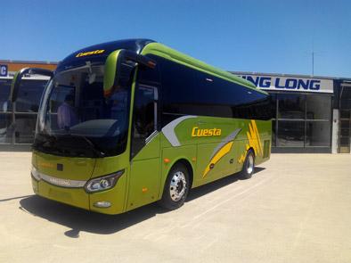 Autocares Cuesta estrena nuevo King Long C9 autoportante de 35 plazas