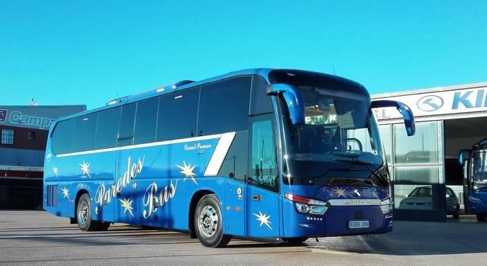Paredes Bus adquiere su primera unidad King Long C12 VIP autoportante
