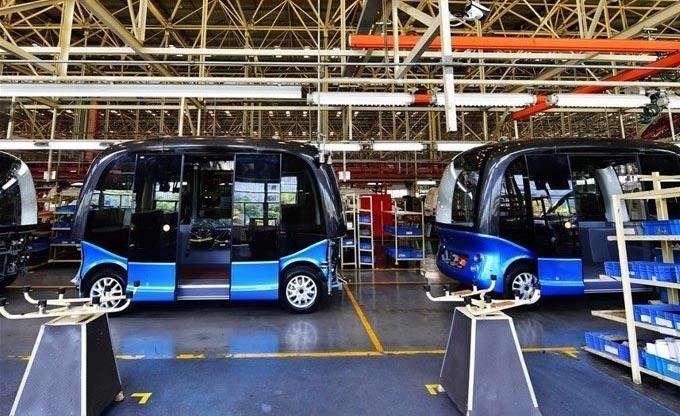 Comienza la venta en España de los buses autónomos de King Long