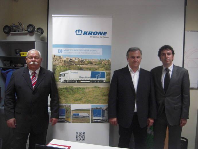 Krone España y Grupo Fortrans firman un acuerdo de colaboración
