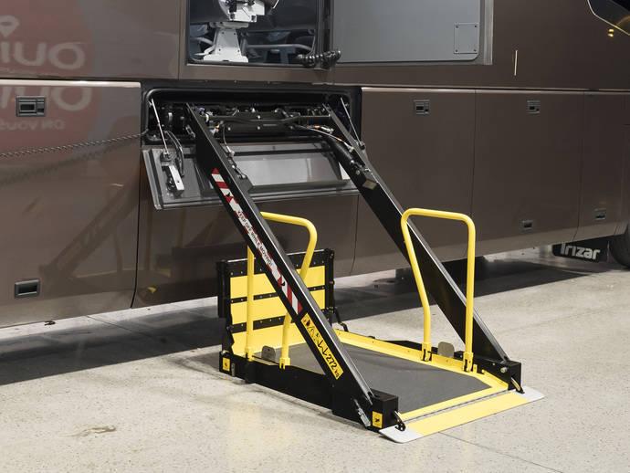 Masats toma la decisión de lanzar un nuevo elevador PMR para el acceso a autocares