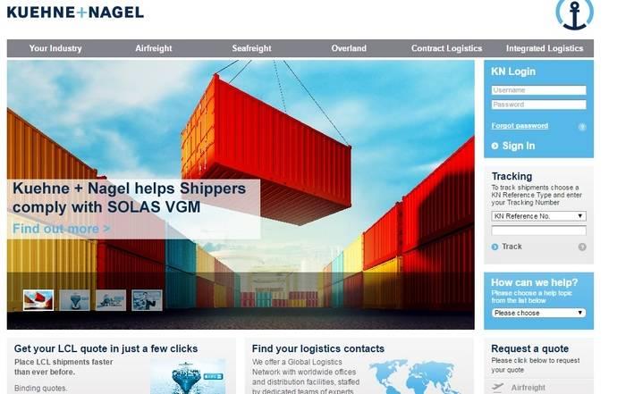AkzoNobel extiende su confianza en la logística de Kuehne + Nagel