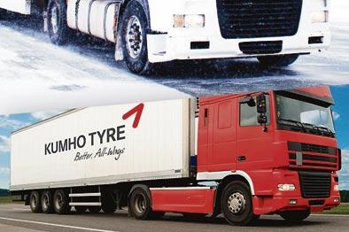Kumho amplía y diversifica su gama de neumáticos comerciales